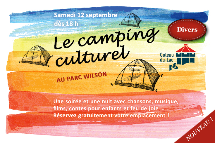 Le camping culturel